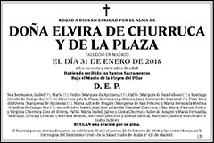 Elvira de Churruca y de la Plaza